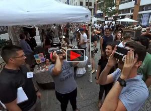 Watch 360 Video from Night Market Event
