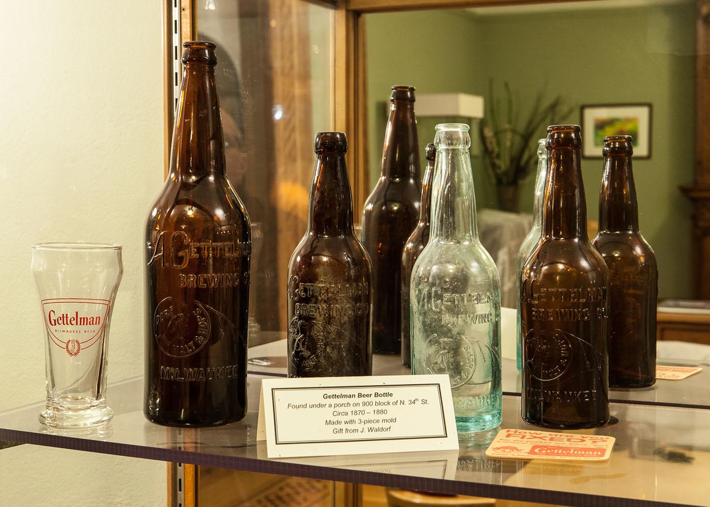 Bottles 1870s