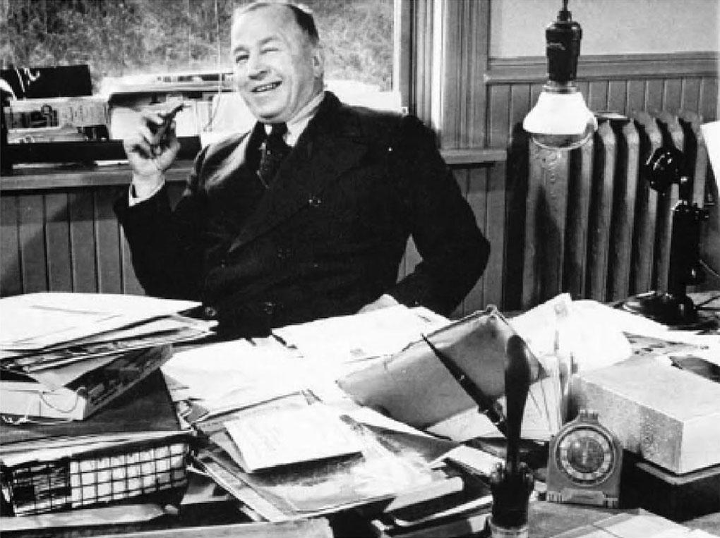 Fritz Getelman in office