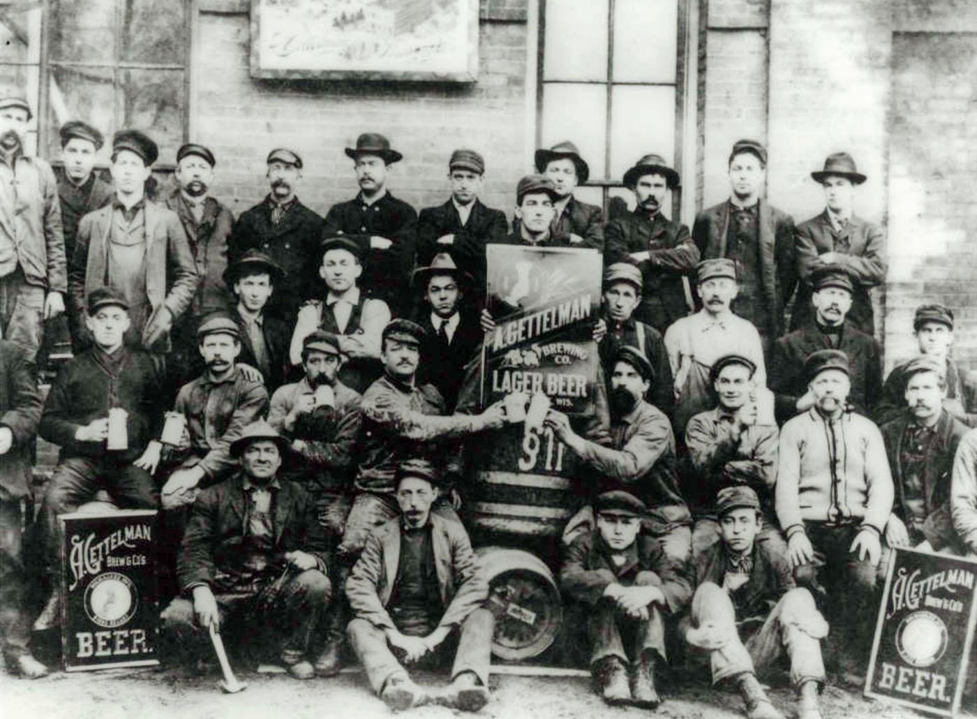 Gettelman Brewery Workers