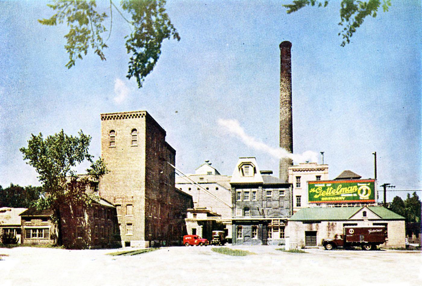 Gettelman Brewery circa 1961