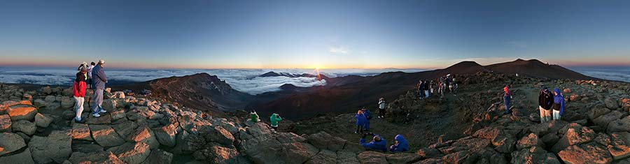 Mt Haleakala Sunrise